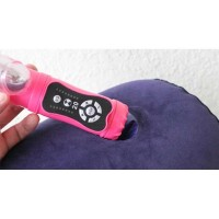 Bantal Guling Inflatable Erotic Pillow Support Vibrator Holder