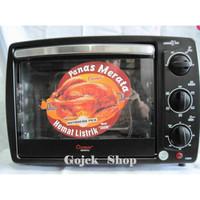 OVEN LISTRIK COSMOS CO-9919R -19Liter Rotisseries Panggang Ayam Utuh