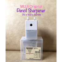 ATK0691MJ kecil Pencil Sharpener MUJI 318946 Rautan Pensil Serutan