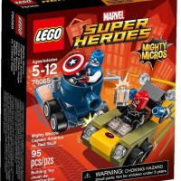 TERBARU LEGO Super Heroes Mighty Micros Captain America vs Red Skull