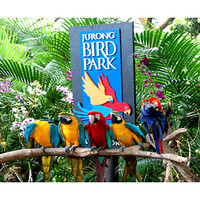 Tiket Masuk Jurong Bird Park with Tram Ride Singapore (Adult)