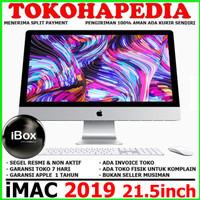 "IMAC 2019 MRT42 21.5"" inch 4K 3.0GHz 6-Core i5 1TB -SEGEL & BARU"