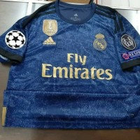 JERSEY CLIMALITE UCL FULL PATCH REAL MADRID AWAY 2019/2020 GO