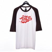 SMOKEY / Men Raglan Tshirt Combination - Premium Nation Original