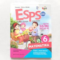 Buku ESPS MATEMATIKA SD Kelas 6 VI K13 Revisi Kurtilas Erlangga