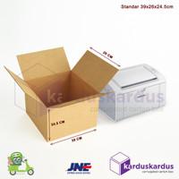 Kardus - Karton - Box Polos - 39x26x24.5