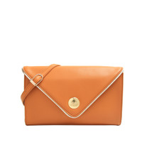 Les Catino Velita Clutch Sudan Brown