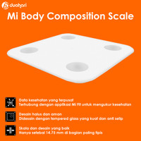 XIAOMI Mi Smart Scale 2 Body Composition Scale Timbangan Pintar