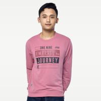 SEYES 1117 Tumblr Tee Sweater Baju Pria Babyterry Premium Dusty