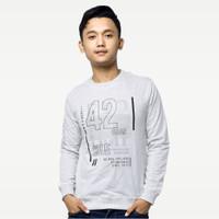 SEYES 1122 Tumblr Tee Sweater Baju Pria Babyterry Premium Misty