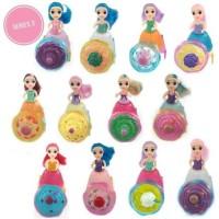 Emco Mini Cupcake Surprise Series 3 Glitter SET 12 pcs Boneka