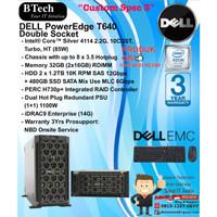 "DELL Server T640 ""Custom Spec 3"" Intel Xeon Silver 4114 TowerSeries"