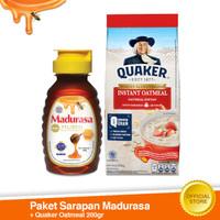 Paket Sarapan Madurasa Murni + Quaker Instant 200g