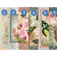 Kertas Scrapbook - Butterfly C1-6_DP19 Design