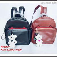 ZS23 Tas Ransel Backpack Wanita Cewek Import Korea Batam Kekinian