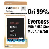 Baterai Original 99% Evercoss M50 M50A M50 star A75B - Cross Evercross