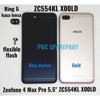 "Ori Backdoor Asus Zenfone 4 Max Pro 5.5"" ZC554KL X00LD Casing Belakang"