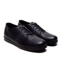 SEPATU FORMAL KULIT REYL LOW STREAM BLACK REYL FOOTWEAR 100% ORIGINAL