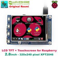 "LCD WAVESHARE 2.8"" 2.8 inch (A) TFT LCD Touchscreen Raspberry Pi 3B +"