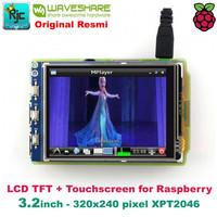 "LCD WAVESHARE 3.2"" 3.2 inch (B) TFT LCD Touchscreen Raspberry Pi 3B +"