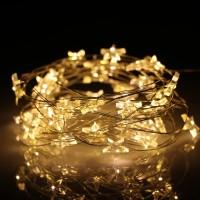 DKG Lampu Hias Dekorasi Bintang Pentagram Light Battery 20 LED - 2G11
