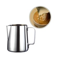 DROHOEY Gelas Pitcher Kopi Espresso Latte Art Stainless Steel 1000ml -
