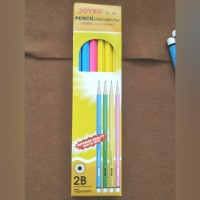 Pensil Joyko 2B/ pensil bagus dan memiliki cover bagian luar berwarna
