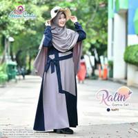 Gamis syari | Ralin dress | baju muslim wanita murah | baju murah