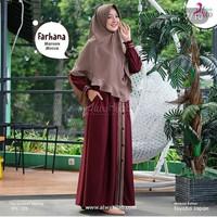 Gamis syari | Farhana dress syari | dress muslim murah | baju terbaru