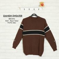 Sweater rajut pria | Danish sweater |fashion pria murah | atasan pria