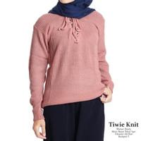Atasan rajut murah |tiwie knit | fashion wanita | blouse murah