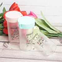 Tumbler Botol Air minum Animal Cat Transparan BPA FREE