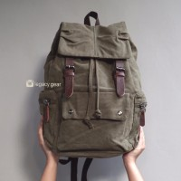 Molypack / Canvas Bag / Legacy Gear / Backpack / Tas Ransel