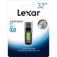 Flash Disk / Flashdisk LEXAR JUMPDRIVE S57 32GB USB 3.0 Flash Drive