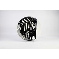 (2pc) Zen Art Jakarta Piring Designer Arief Rachman A - 27 cm Giftbox