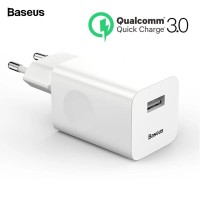 Baseus Quick Fast Charge 3.0 USB Charger QC3.0 Mobile Phone Charger