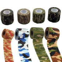 Outdoor Hunting Camo Bandage Shooting Cycling Tape Wrap Camouflage