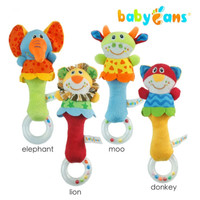 Rattle Stick Baby and Ring Teether - Mainan Bayi