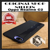 OPPO REALME C2 ORIGINAL UME ENIGMA SOFT CASE CASING JELLY COVER CARBON