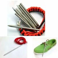 Jarum paracord tali prusik needle 550 jig DIY 4mm
