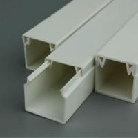 PVC CABLE DUCT (TANPA SLOT/LUBANG) WARNA PUTIH PSD-6565