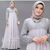 Baju Gamis Wanita Syari Maxi Prita Muslim Terbaru MURAH