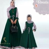 Baju Gamis Wanita Set Syari Renata Couple Muslim Terbaru MURAH