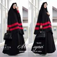 Baju Gamis Wanita Syari Maxi Baloteli Mecca Muslim Terbaru MURAH