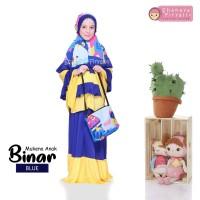 Mukena Anak Motif Printing ORI Shanaya Firyal Mukena Jersey size L