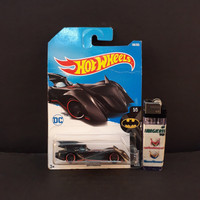 Pajangan Mainan Diecast Hotwheels Murah Batmobile