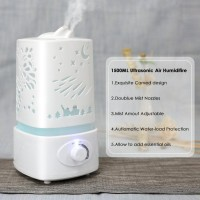 LIMITED EDITION Carved Design Air Humidifier Large Ultasonic Aroma