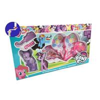 Mainan Anak Make Up Permen LOLLIPOP 4 Susun + BONEKA PONY 686-4D