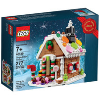 LEGO 40139 - Brick and More - Gingerbread House