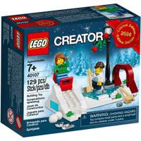 LEGO 40107 - Brick and More - Winter Skating Scene